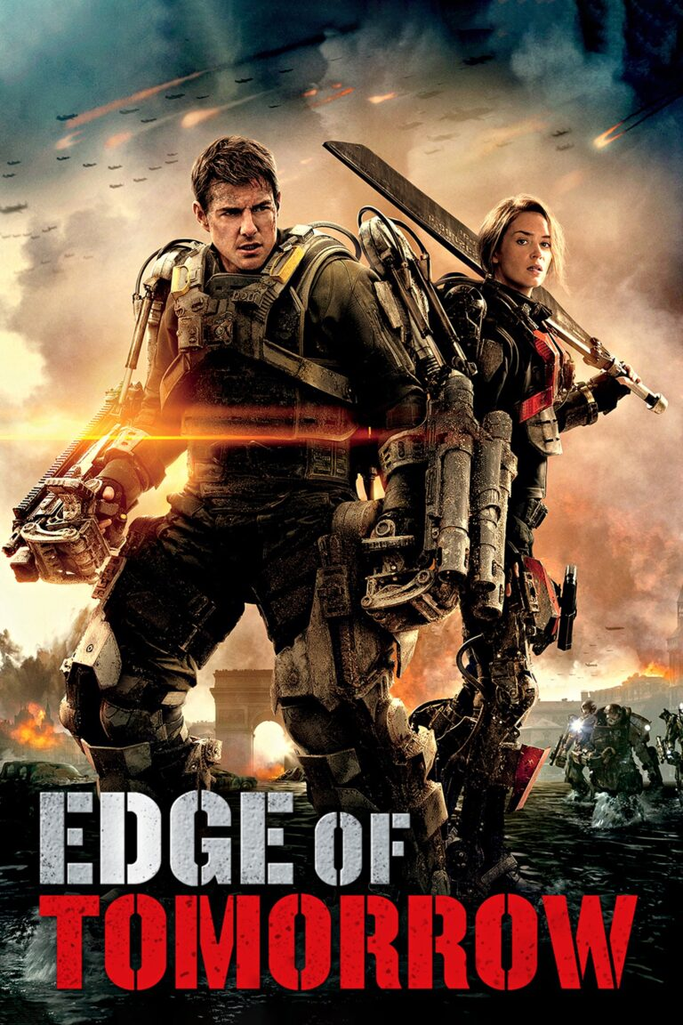 """Poster for the movie """"Edge of Tomorrow"""""""