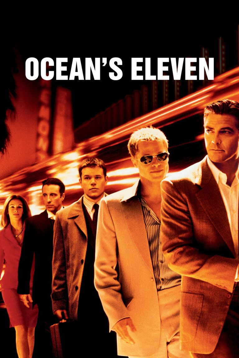 """Poster for the movie """"Ocean's Eleven"""""""