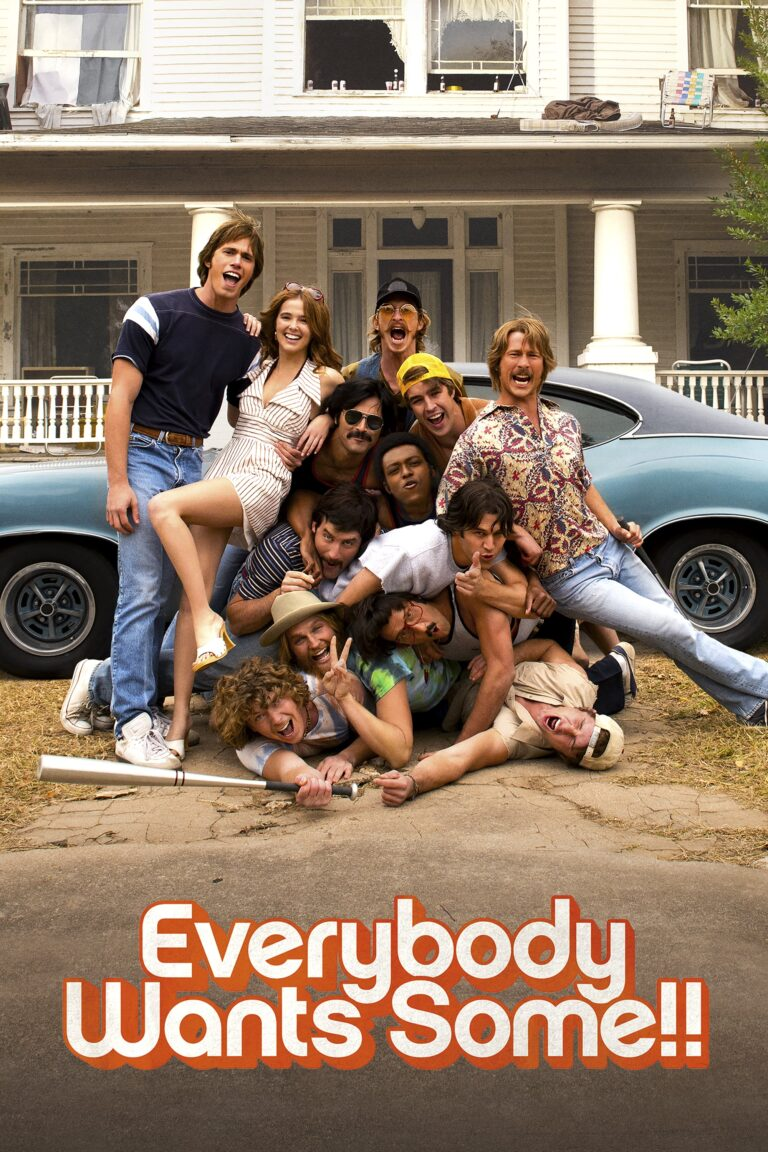 """Poster for the movie """"Everybody Wants Some!!"""""""