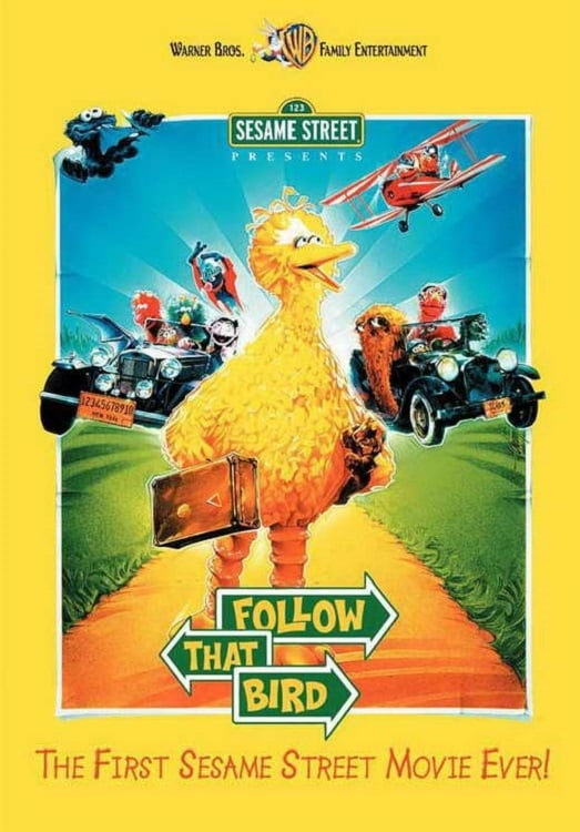 """Poster for the movie """"Follow That Bird"""""""