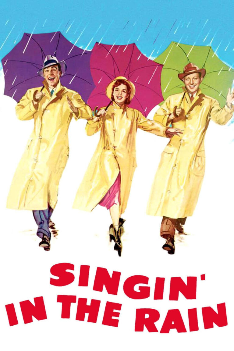 """Poster for the movie """"Singin' in the Rain"""""""