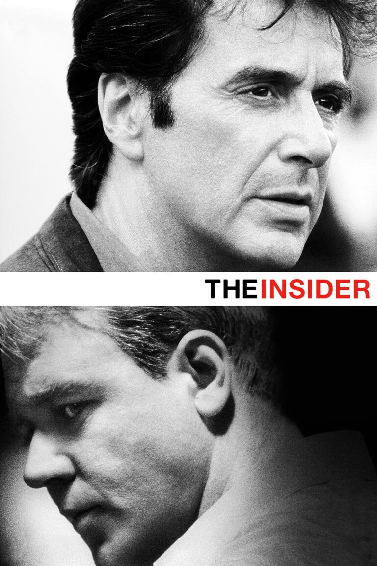 "Poster for the movie ""The Insider"""