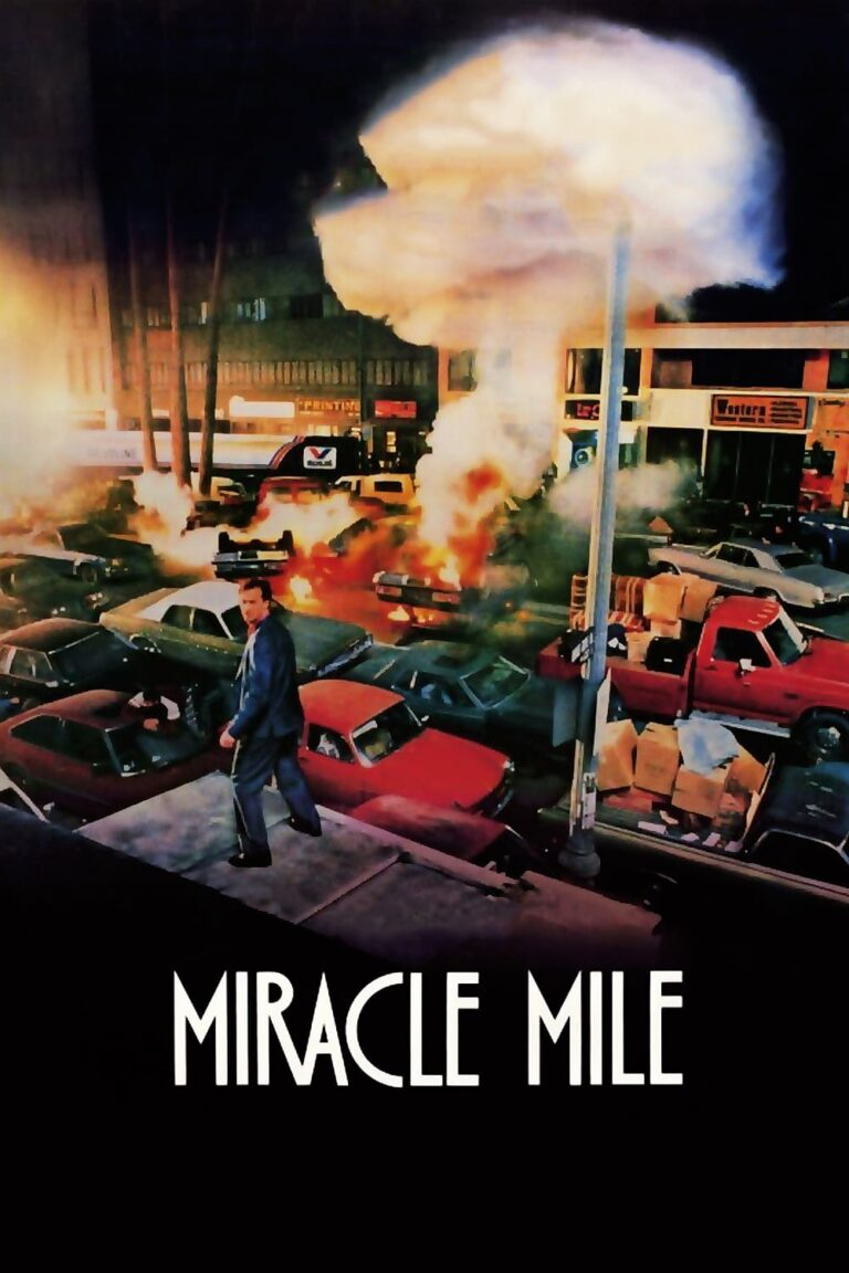 "Poster for the movie ""Miracle Mile"""