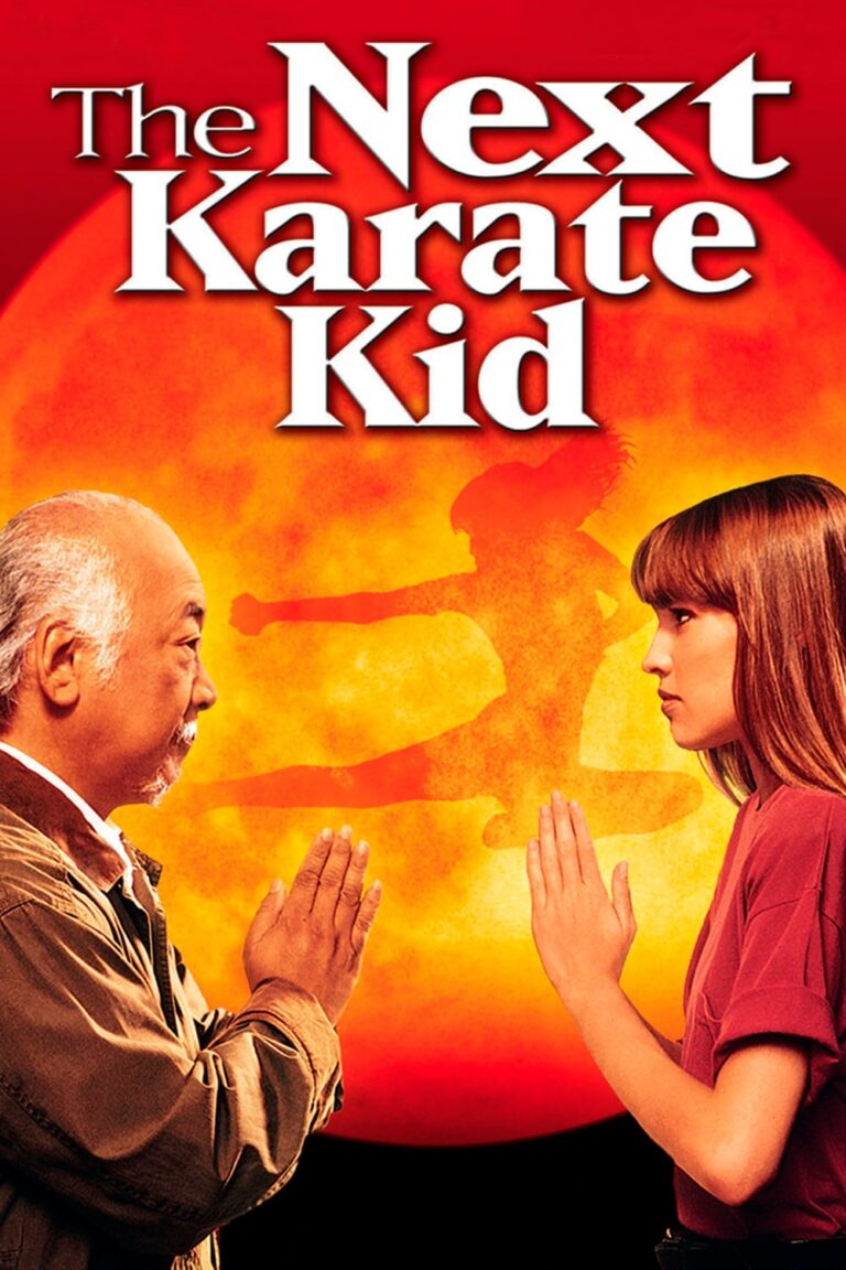 """Poster for the movie """"The Next Karate Kid"""""""