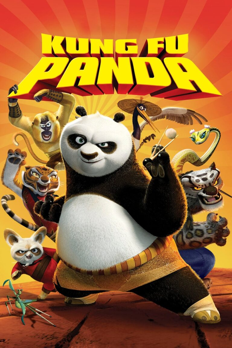 """Poster for the movie """"Kung Fu Panda"""""""