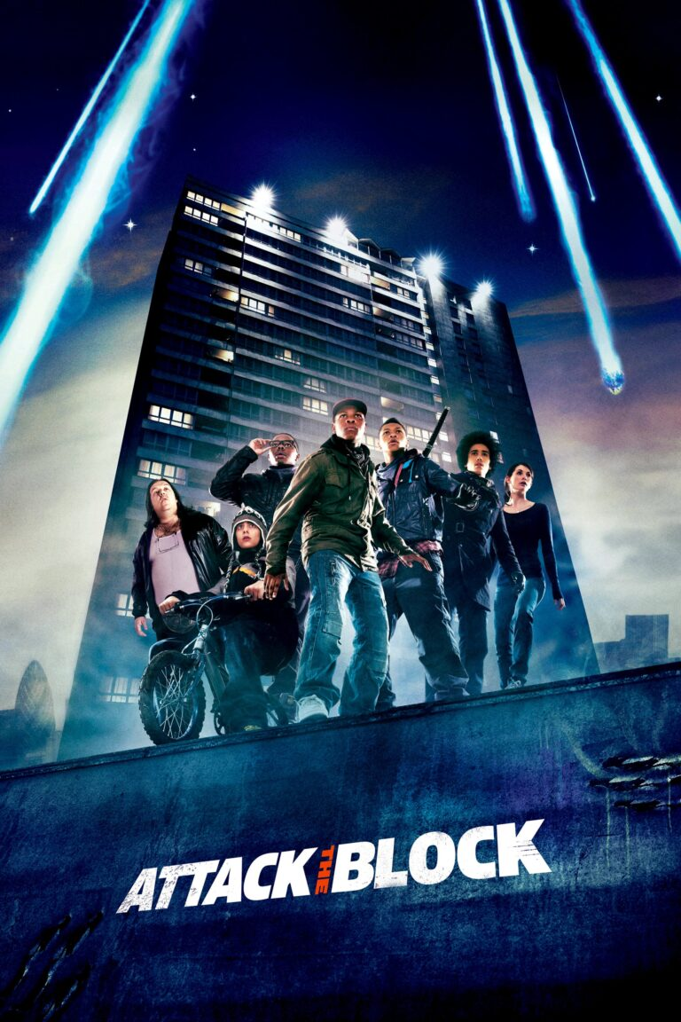 "Poster for the movie ""Attack the Block"""