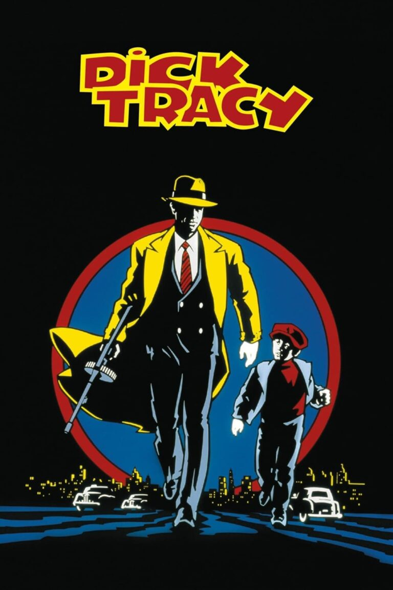 """Poster for the movie """"Dick Tracy"""""""