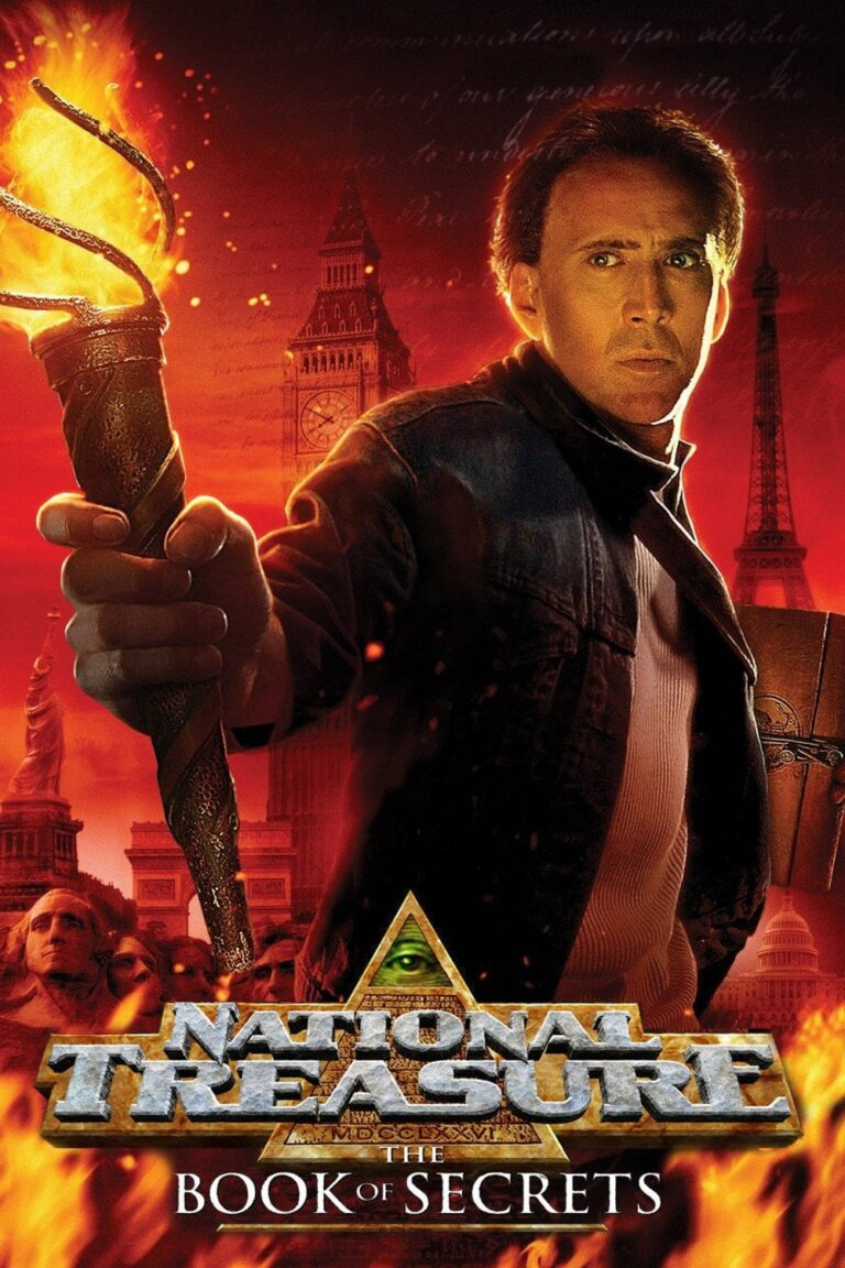 """Poster for the movie """"National Treasure: Book of Secrets"""""""