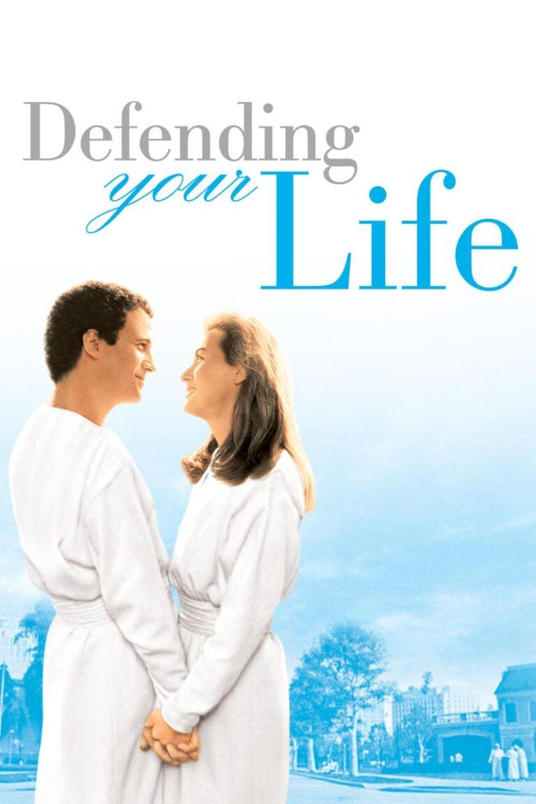 """Poster for the movie """"Defending Your Life"""""""