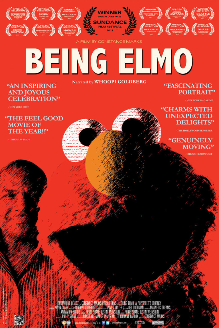 """Poster for the movie """"Being Elmo: A Puppeteer's Journey"""""""