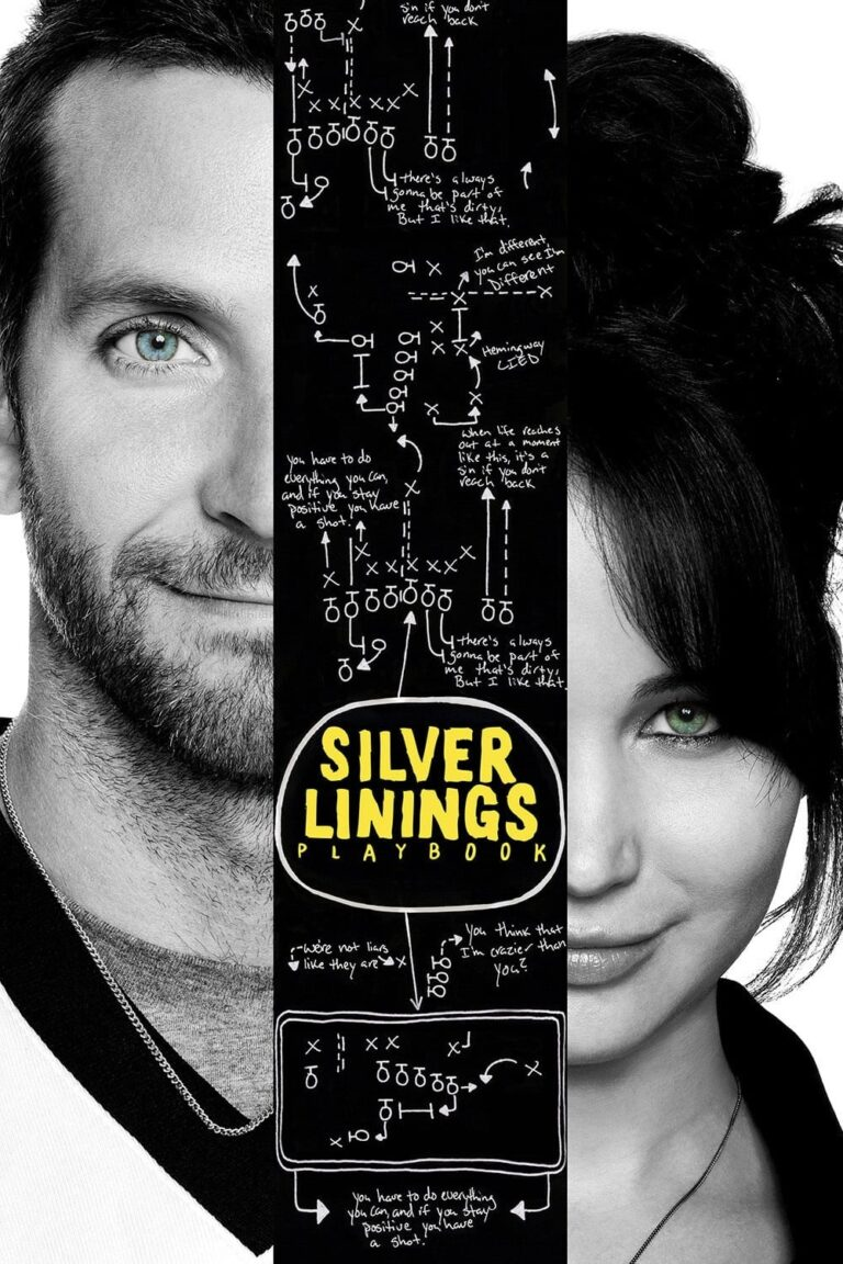 """Poster for the movie """"Silver Linings Playbook"""""""