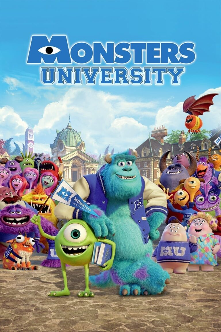 """Poster for the movie """"Monsters University"""""""