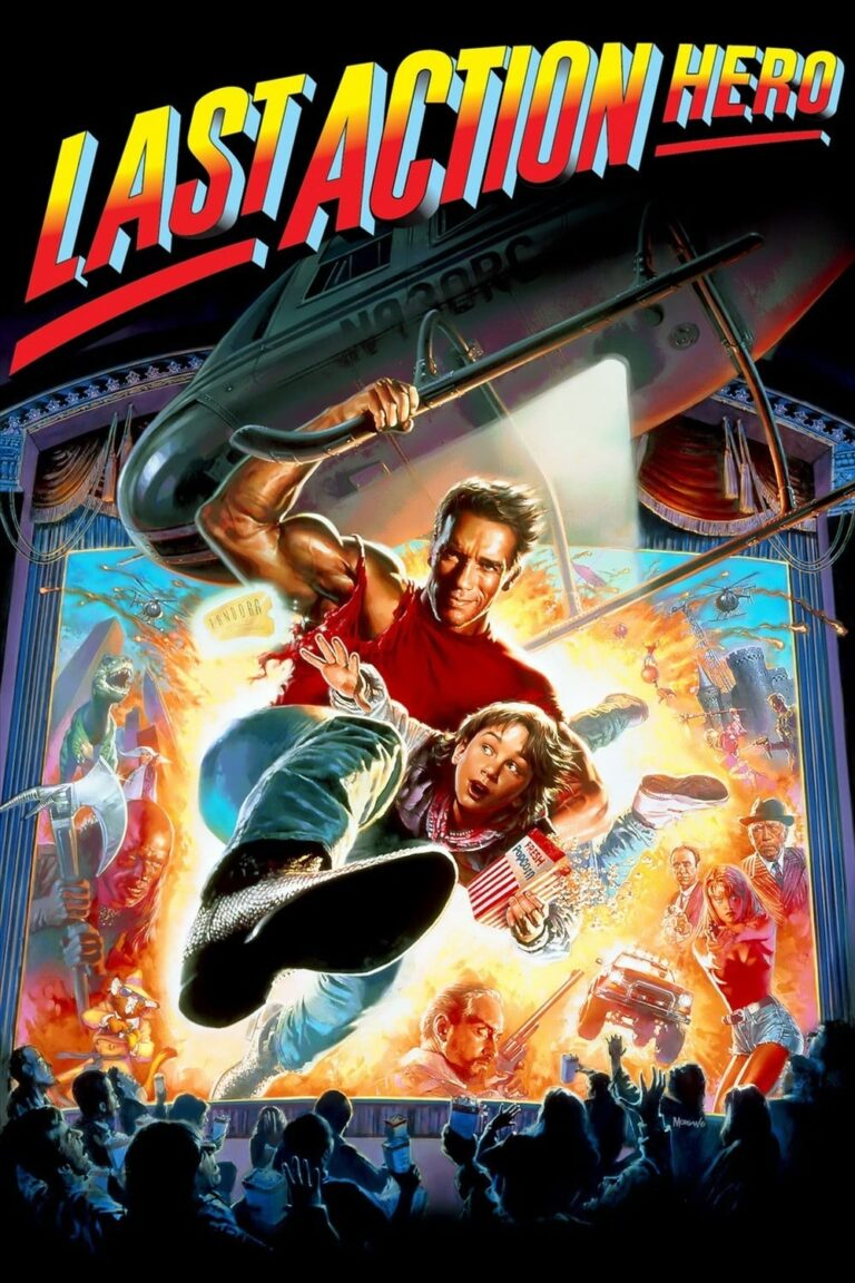 "Poster for the movie ""Last Action Hero"""