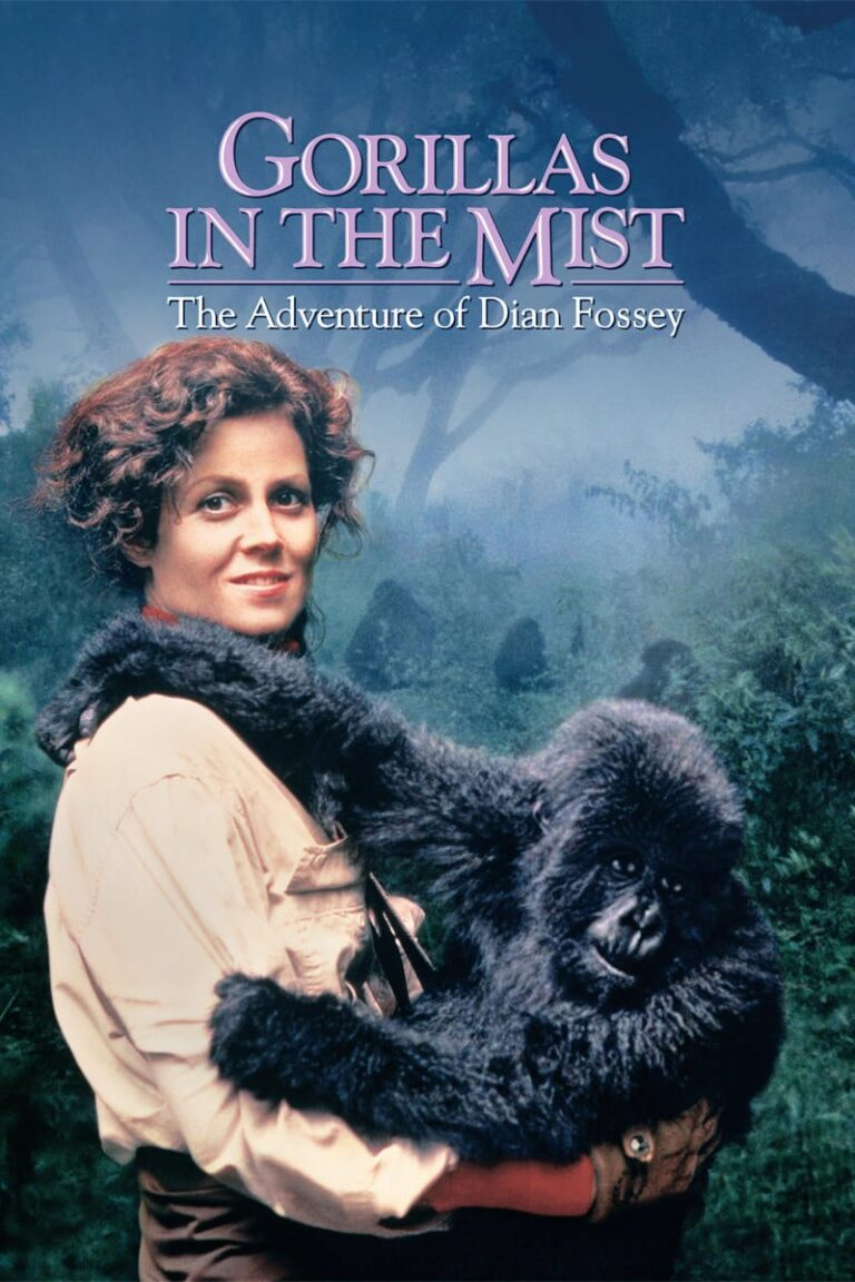 """Poster for the movie """"Gorillas in the Mist"""""""