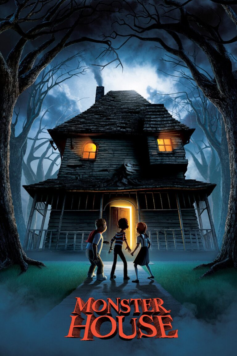 """Poster for the movie """"Monster House"""""""