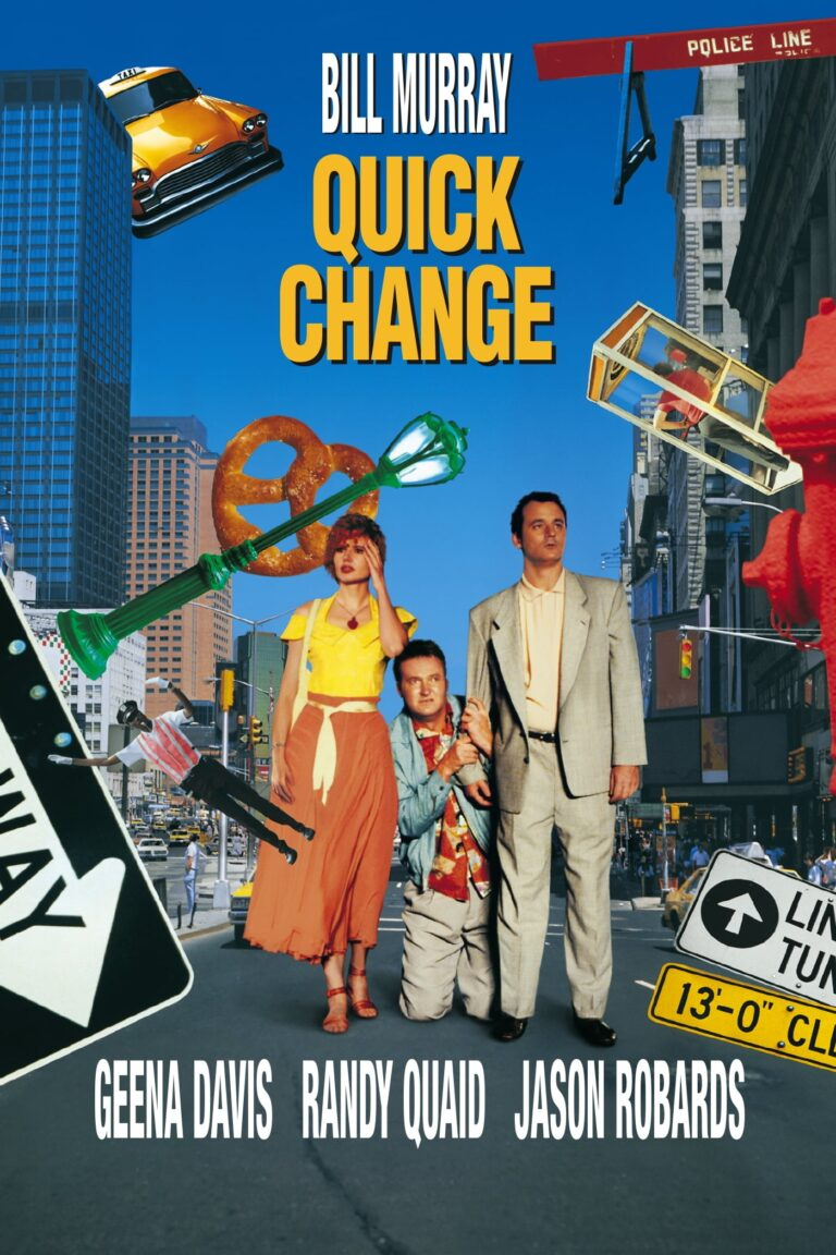 """Poster for the movie """"Quick Change"""""""