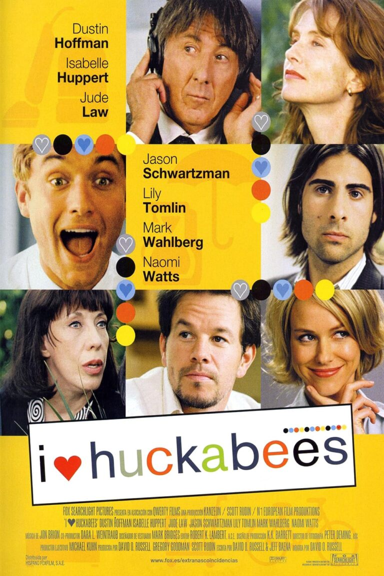 """Poster for the movie """"I ♥ Huckabees"""""""