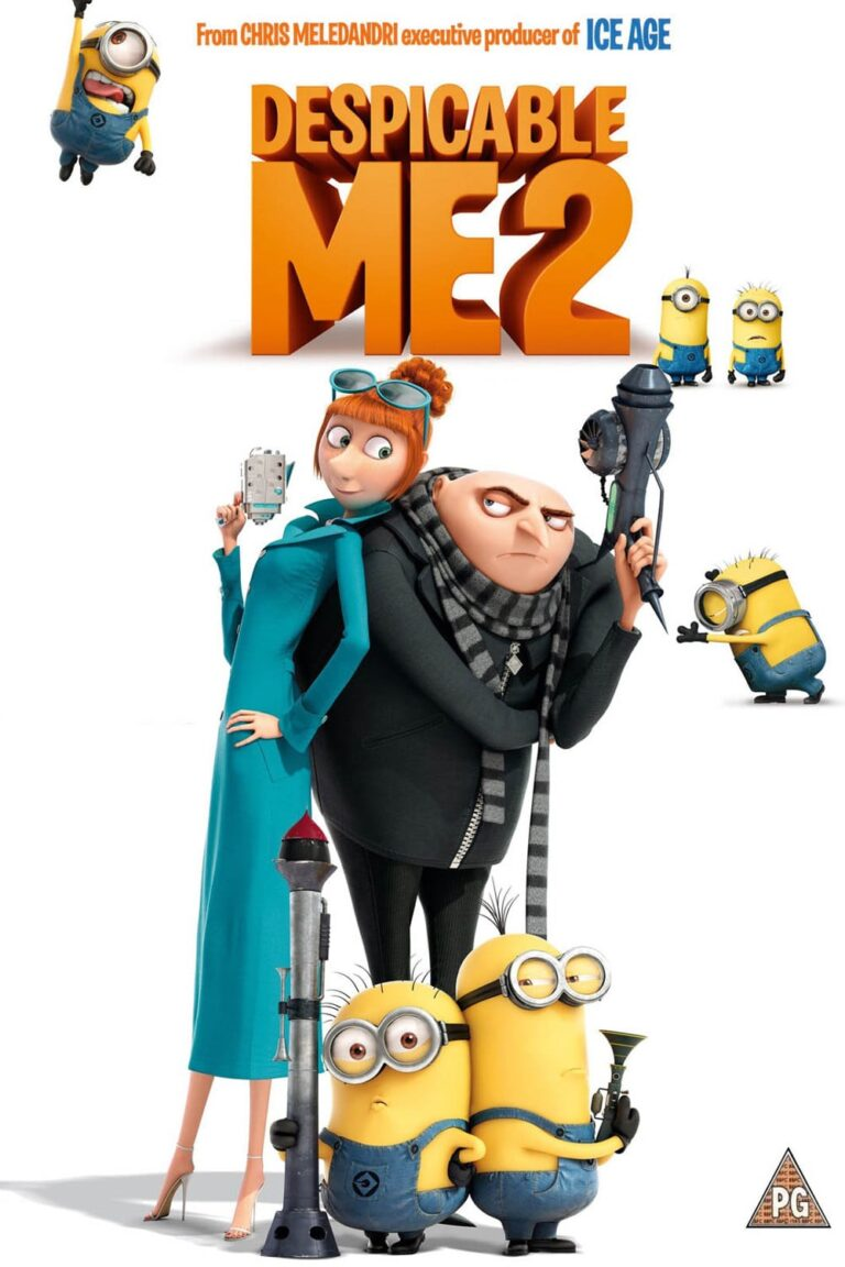 """Poster for the movie """"Despicable Me 2"""""""