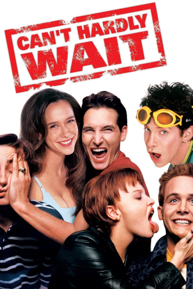 """Poster for the movie """"Can't Hardly Wait"""""""