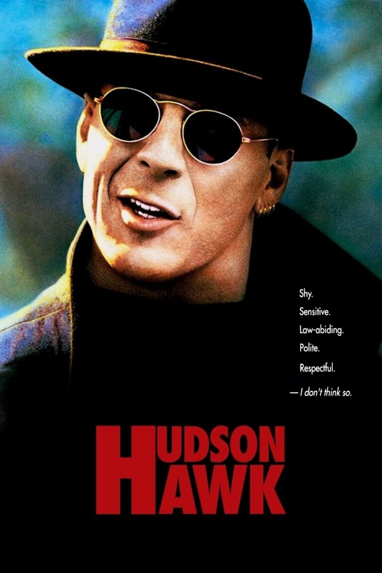 """Poster for the movie """"Hudson Hawk"""""""