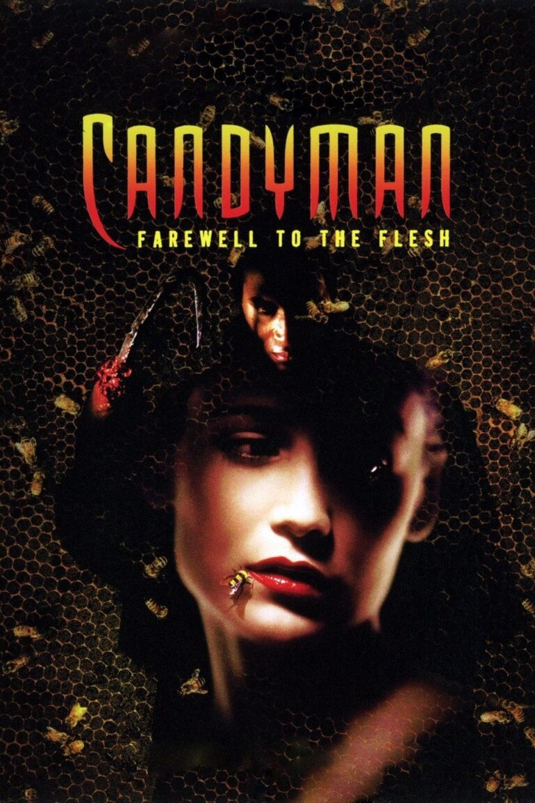 """Poster for the movie """"Candyman: Farewell to the Flesh"""""""
