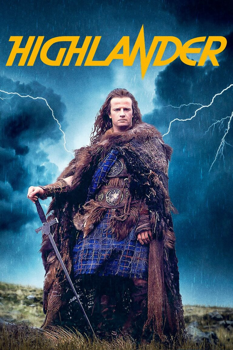 "Poster for the movie ""Highlander"""