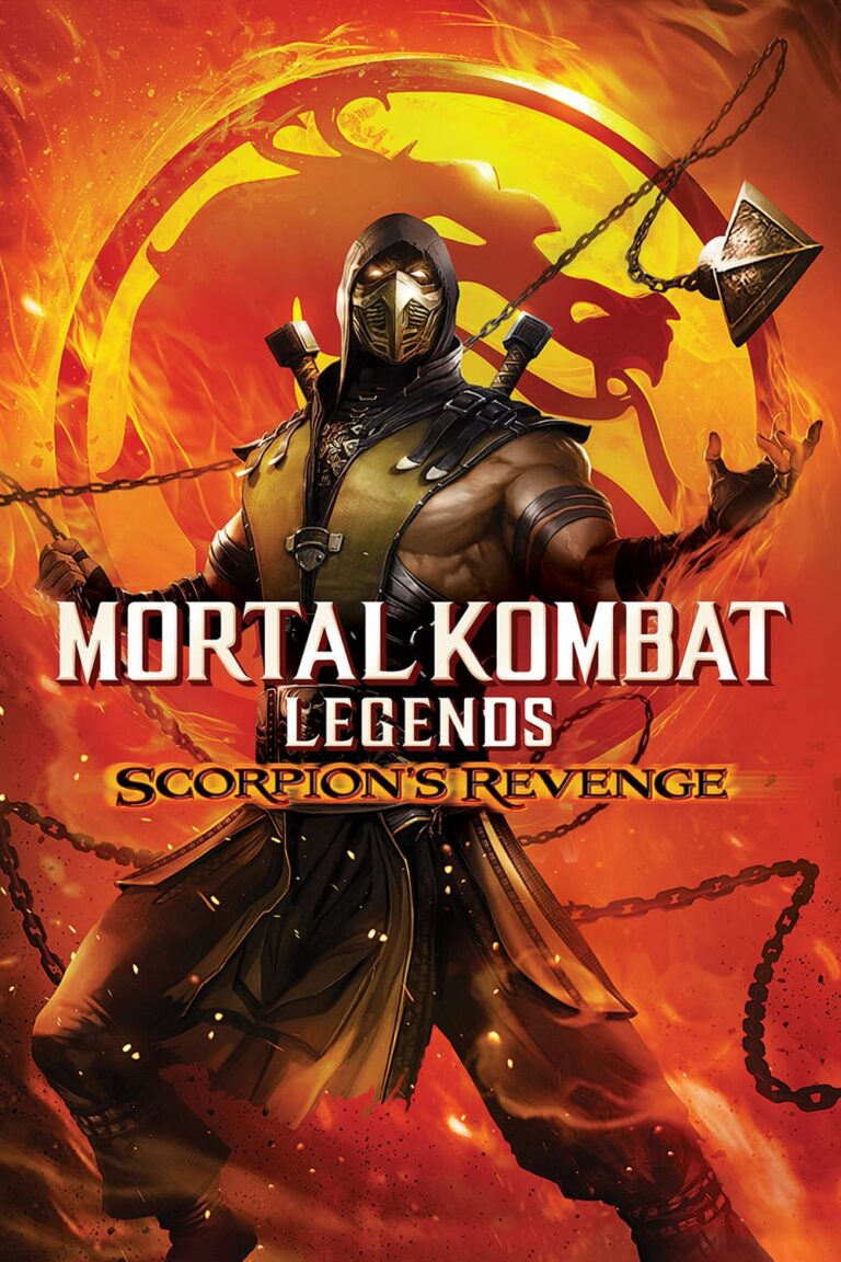 "Poster for the movie ""Mortal Kombat Legends: Scorpion's Revenge"""