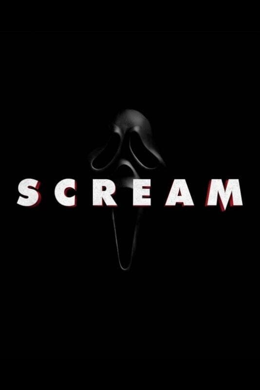 """Poster for the movie """"Scream"""""""