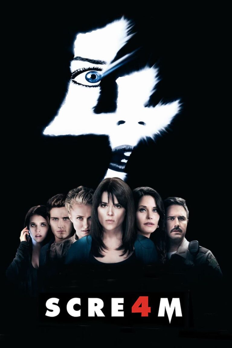 """Poster for the movie """"Scream 4"""""""