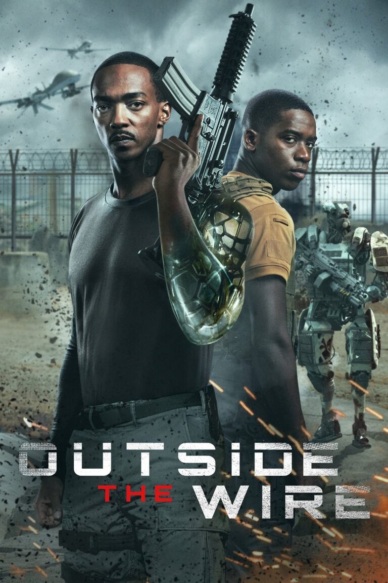 "Poster for the movie ""Outside the Wire"""