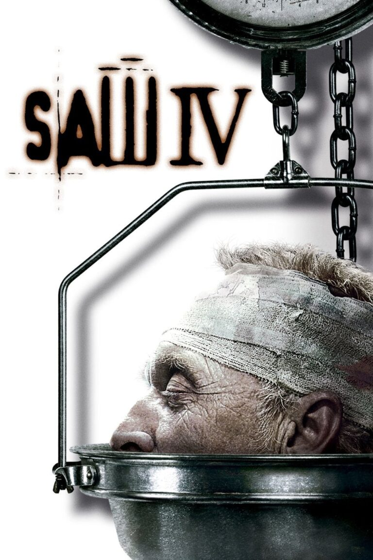 """Poster for the movie """"Saw IV"""""""