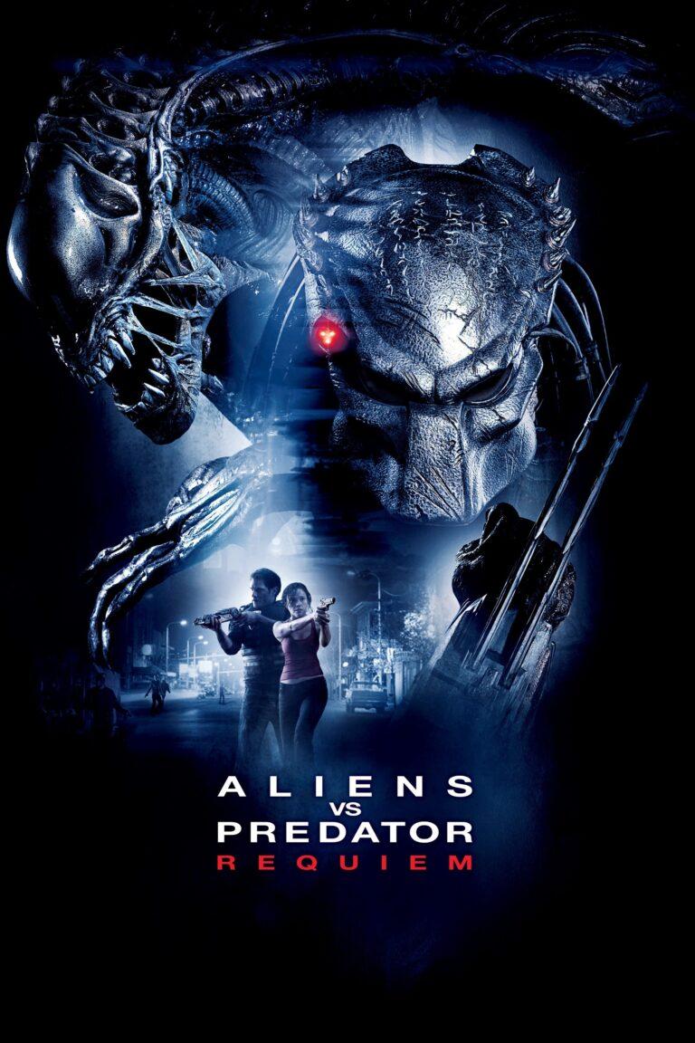 "Poster for the movie ""Aliens vs Predator: Requiem"""