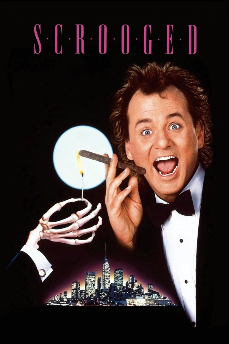 """Poster for the movie """"Scrooged"""""""