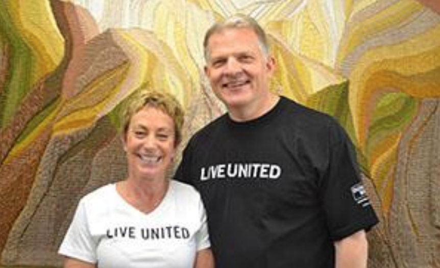 Leading the United Way Campaign Is a Family Tradition