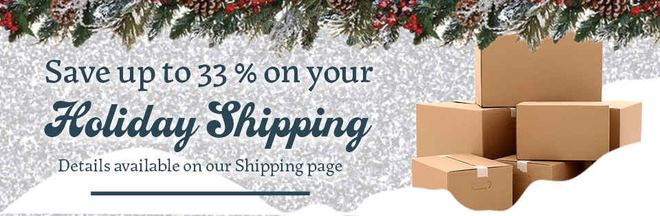 Holiday 2020 Shipping Promotion