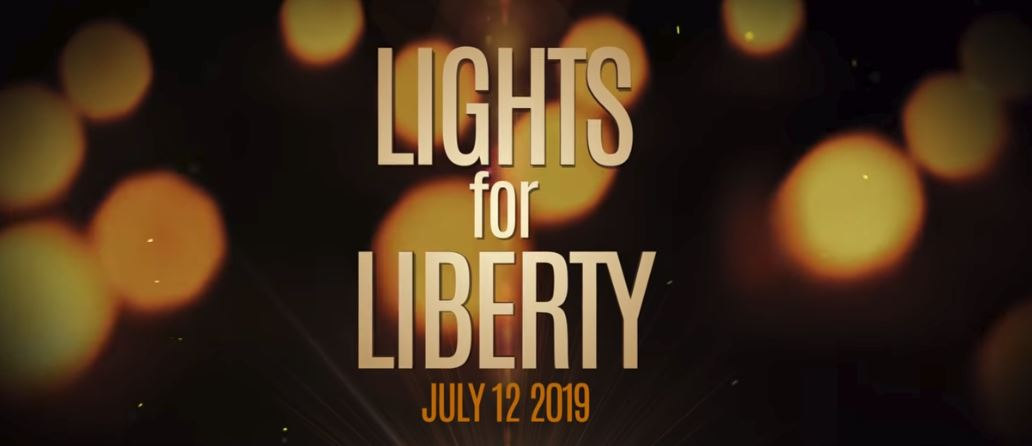"""""""Lights For Liberty"""" Vigil Held In Fortuna"""