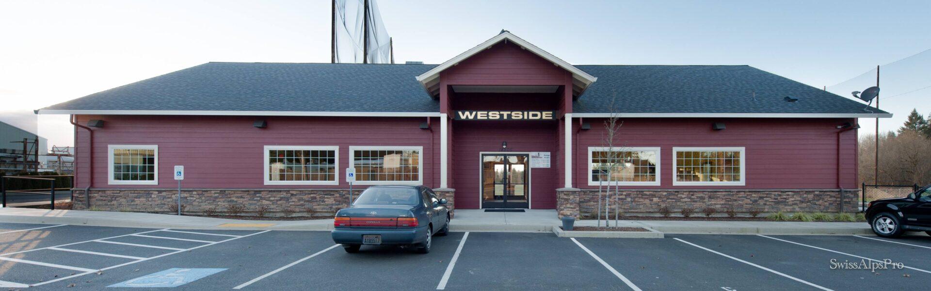 Westside entrance