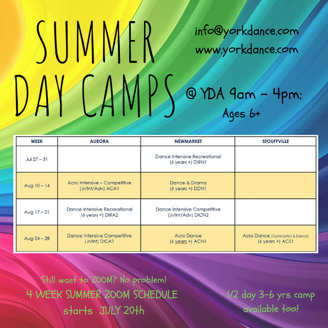 FULL DAY CAMPS!