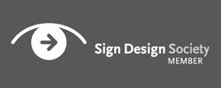 Sign design society is partnering with naveze on how to create digital event wayfinding signage.
