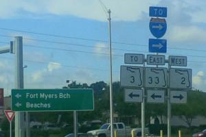 Various Highway/Street Signage