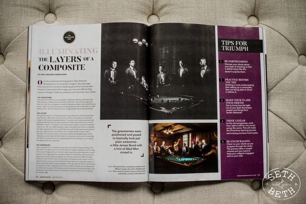 Rangefinder Magazine Feature