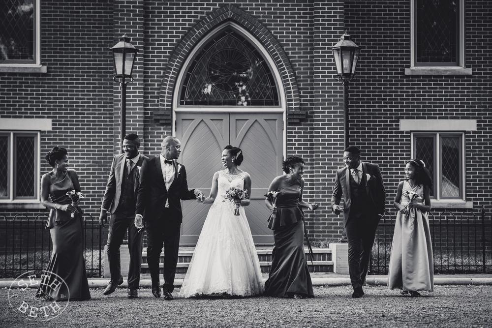 Columbus Ohio Bridal Party