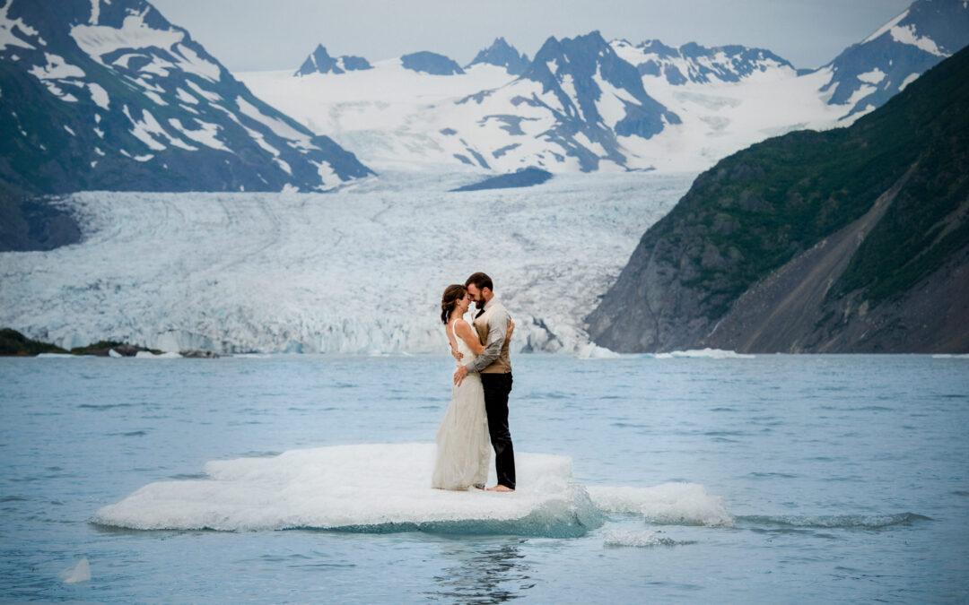 Alaska Destination Wedding – Jasmine & Erik