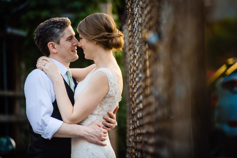 Emotional Wedding Photography at High Line Car House Wedding Venue in Columbus Ohio