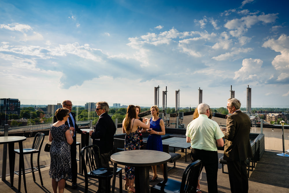 Wedding at Juniper Rooftop - Dock 580 in Columbus, Ohio