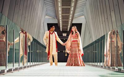Katie & Viren's Indian Fusion Wedding – Hilton Downtown