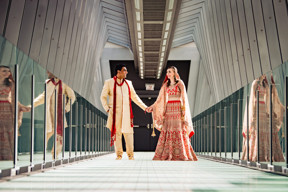 Katie & Viren's Indian Fusion Wedding – Hilton Downtown