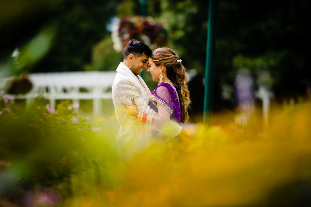 Indian Fusion Wedding at Franklin Park Conservatory and Hilton Easton – Grace & Pran