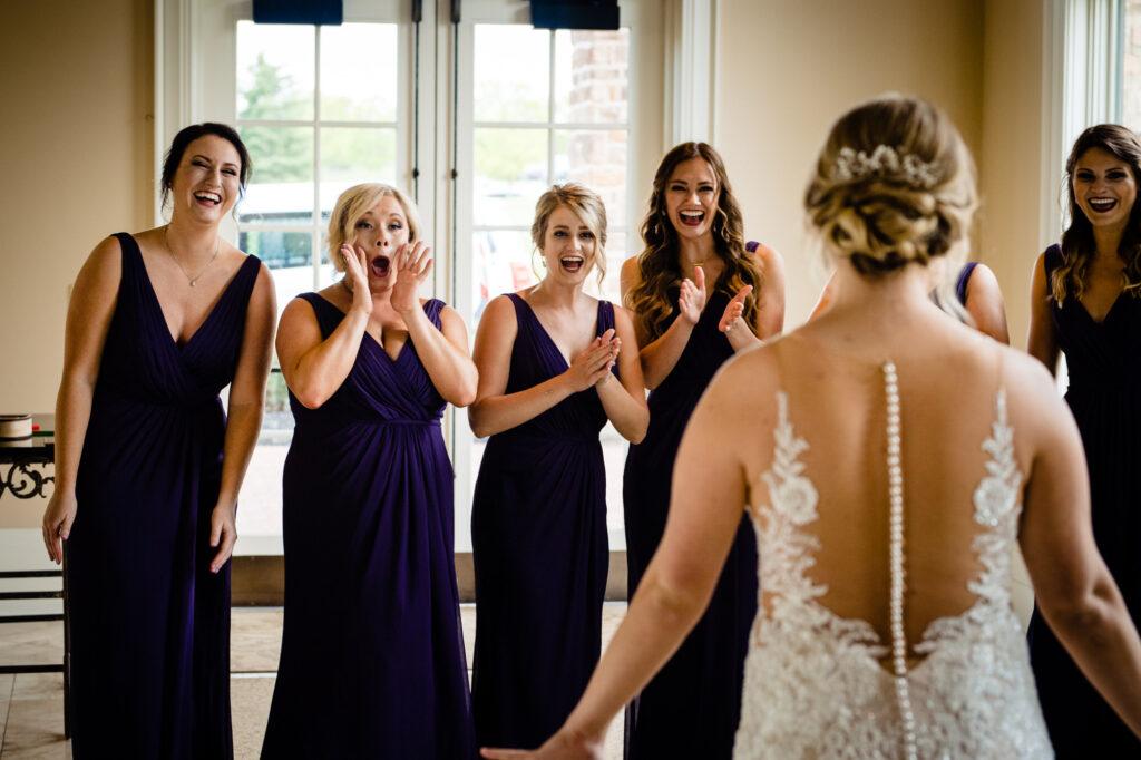 reveal at Grove City Wedding Venue