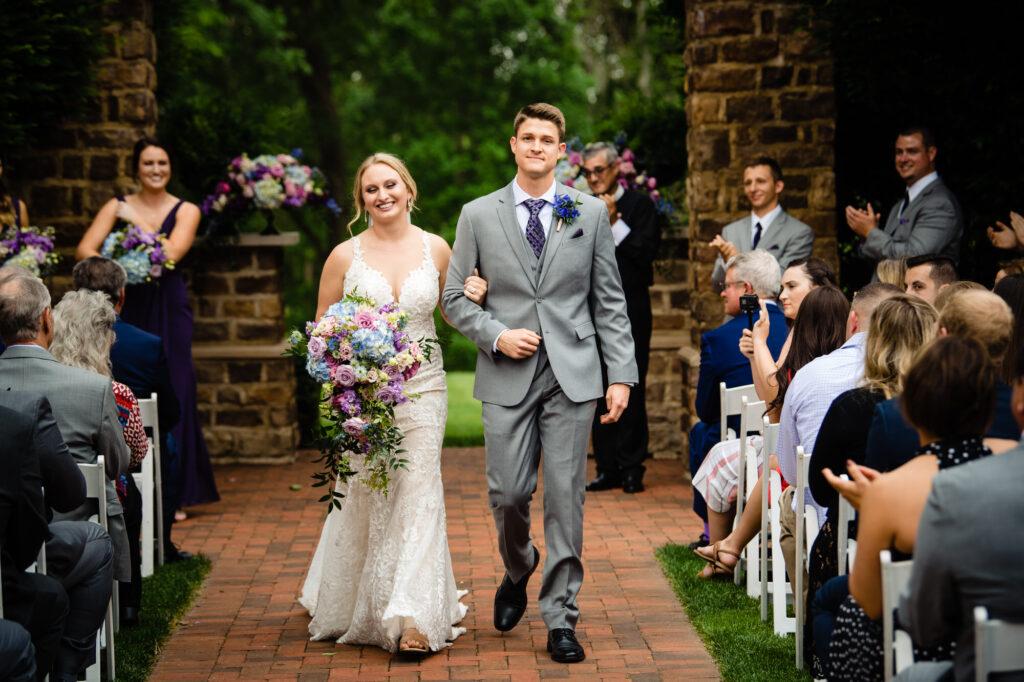 ceremony at Grove City Wedding Venue